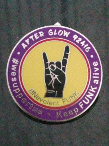 Afterglow BNevolent FUNK Pin
