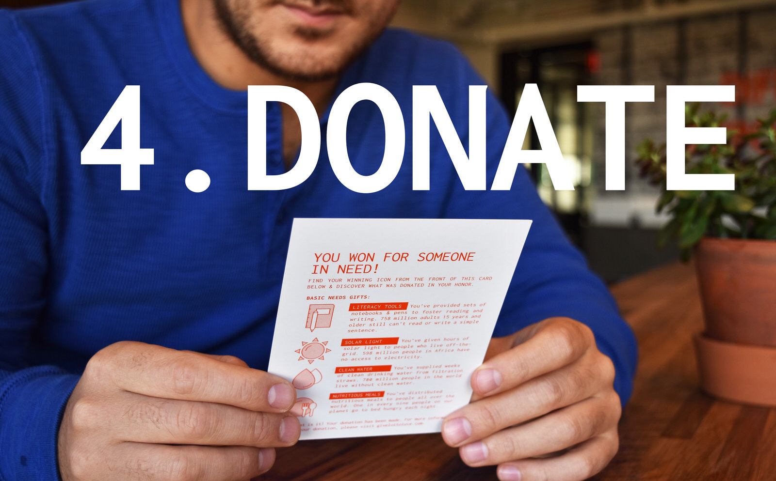 Charitable Gifts with LottoLove Scratch off Cards