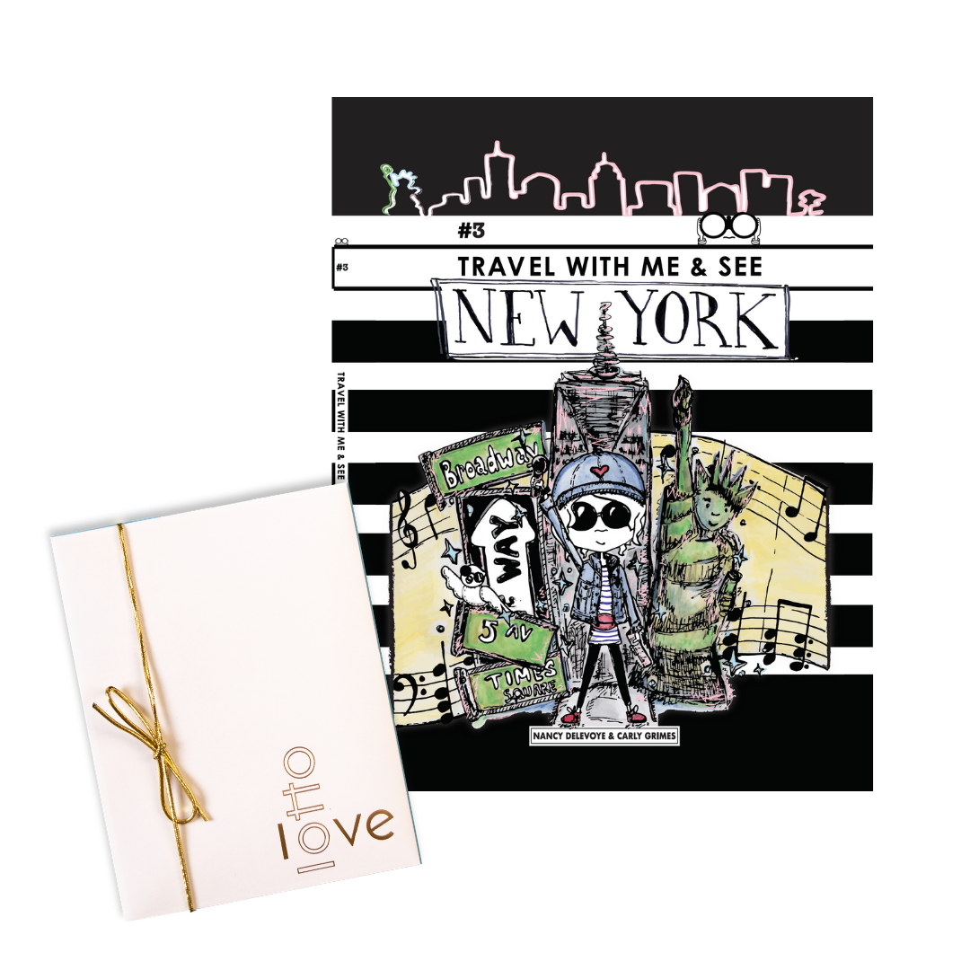 Travel With Me & See New York + LottoLove Book Bundle