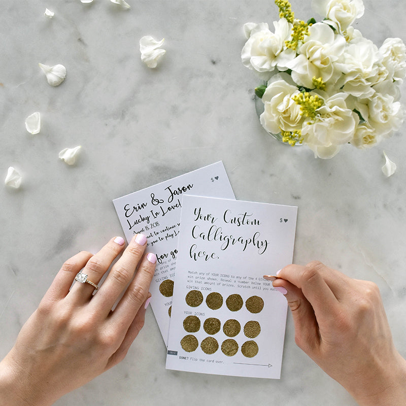 Lucky in Love Wedding Favors - LottoLove