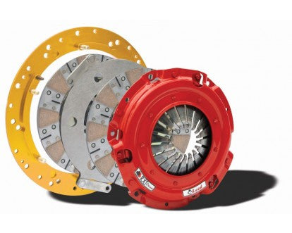 McLeod RXT1200 Twin Disc 26 Spline Clutch Kit (01-2010 Mustang GT/Bullit/99-04 Cobra/Mach 1; 97-2010 GM)