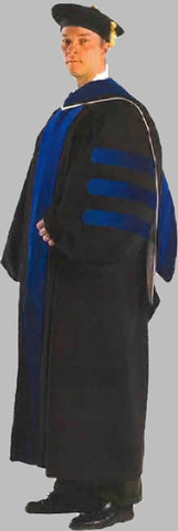 Deluxe Ph.D. Doctoral Robe