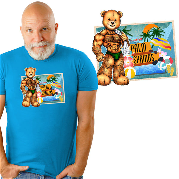 Bearded Shirts • Palm Springs Eddi Bear Shirt