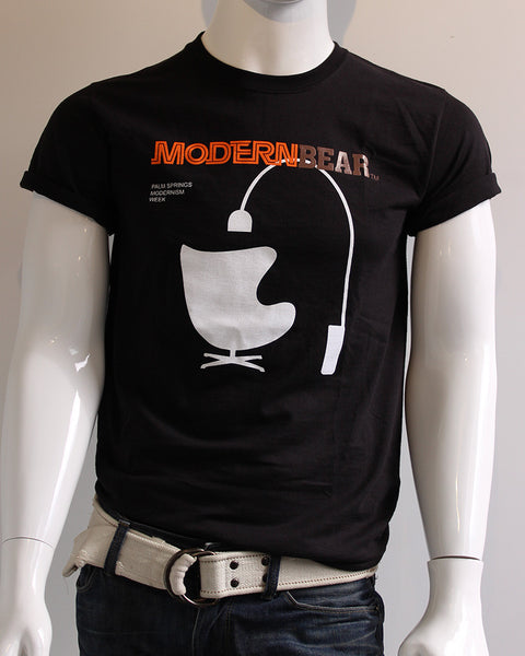 ModernBear T-Shirt • Palm Springs Modernism Week • Black