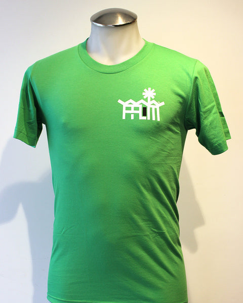 Tim-Scapes T-Shirt • Palm Springs Modernism • Green