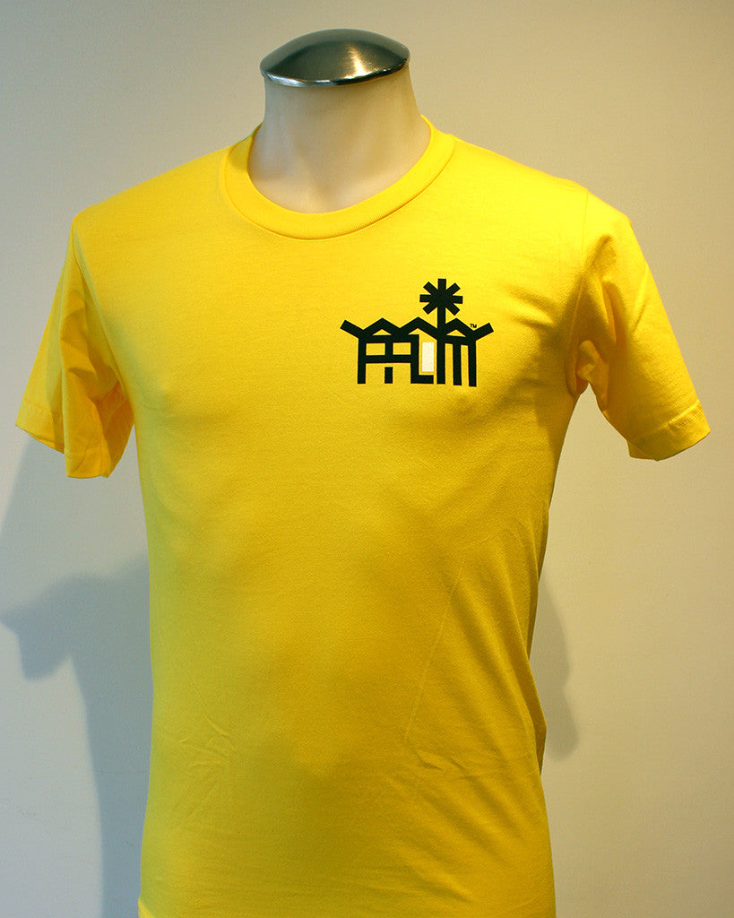 Tim-Scapes T-Shirt • Palm Springs Modernism • Yellow