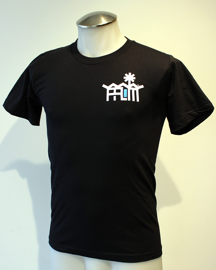 Tim-Scapes T-Shirt • Palm Springs Modernism • Black