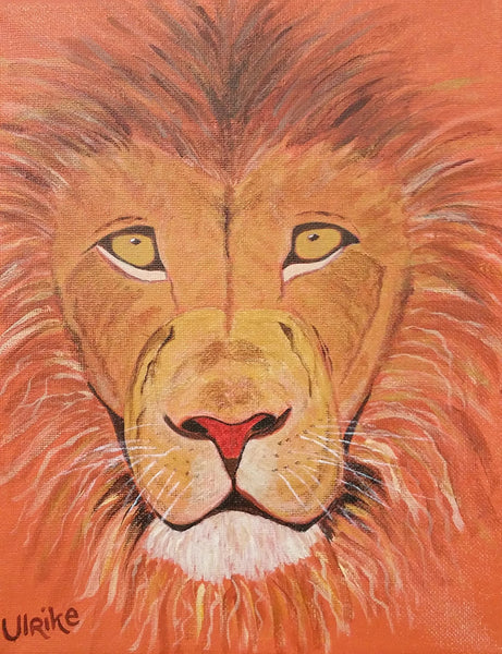 Ulrike Greeting Card • The Red Lion