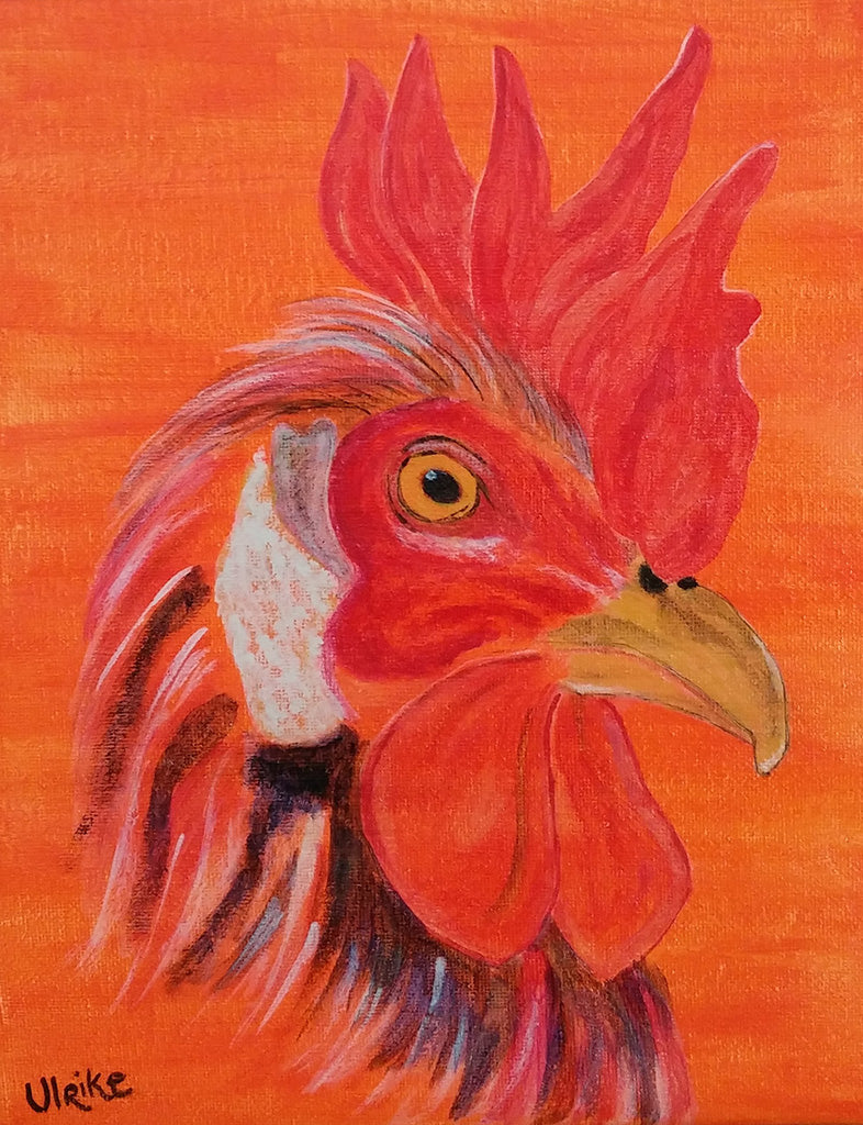 Ulrike Greeting Card • The Red Rooster