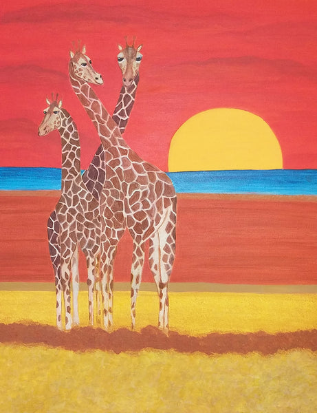 Ulrike Greeting Card • Africa