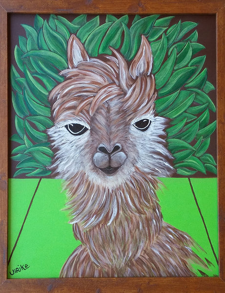 Ulrike Greeting Card • Ava Alpaca