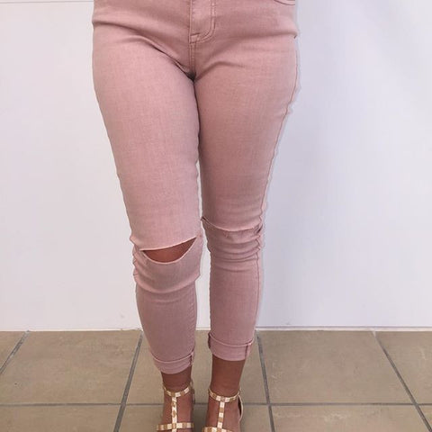 Behind The Scenes Blush Jeans