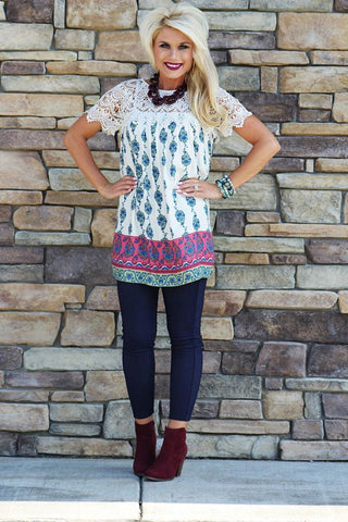 Bless Your Heart Tunic Top