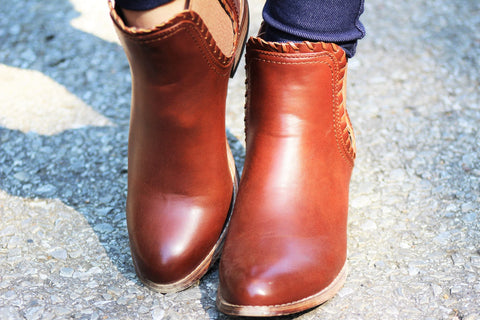 Olivia Miller OMM-10188 Brown Booties