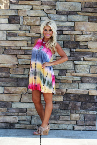 Summer Fling Tye Dye Dress