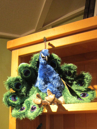 Large Peacock Puppet