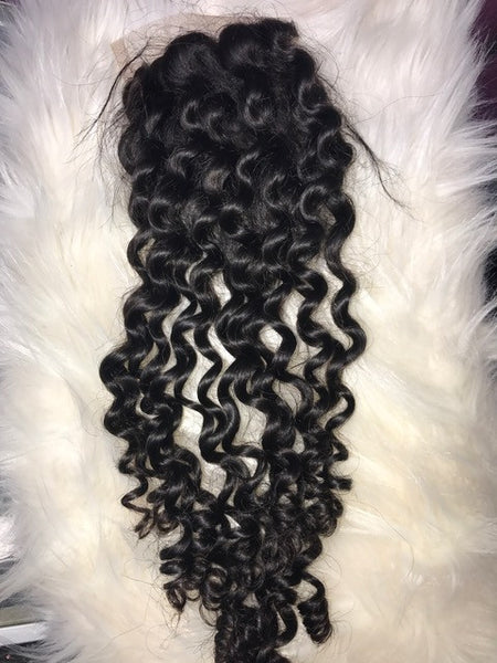 Danni Curly Closure