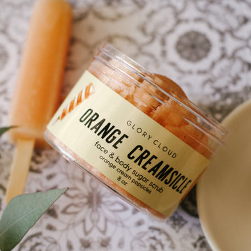 Orange Creamsicle - Cloud Scrub