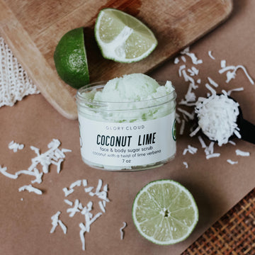 Coconut Lime - Cloud Scrub