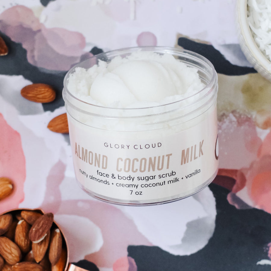 Almond Coconut Milk - Cloud Scrub