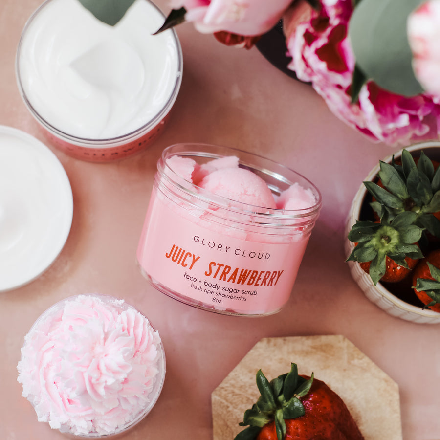 Juicy Strawberry - Cloud Scrub