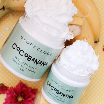 Glory Cloud USA - Whipped Soap - Cocobanana
