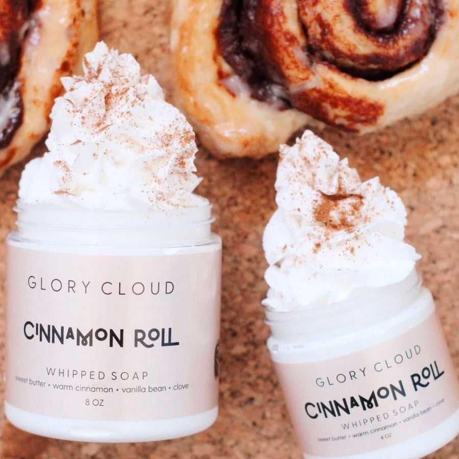 Cinnamon Roll - Cloud Soap