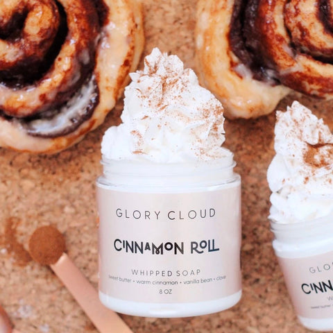 Glory Cloud USA - Whipped Soap - Cinnamon Roll