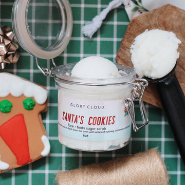 Glory Cloud USA - Whipped Sugar Scrubs - Santa's Cookies