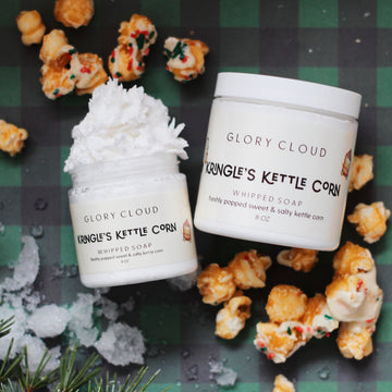 Glory Cloud USA - Whipped Soap - Kringle's Kettle Corn