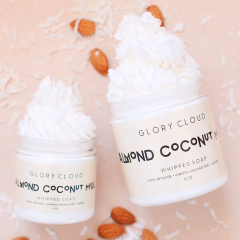 Glory Cloud USA - Whipped Soap - Almond Coconut Milk