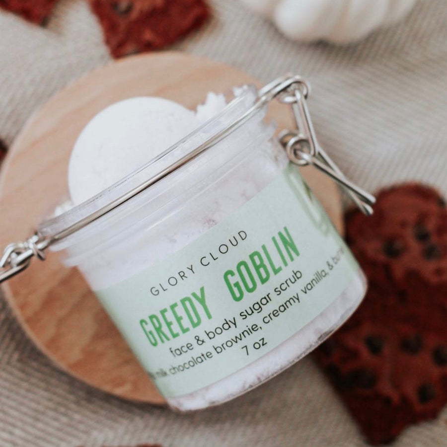 Glory Cloud USA - Whipped Sugar Scrubs - Greedy Goblin