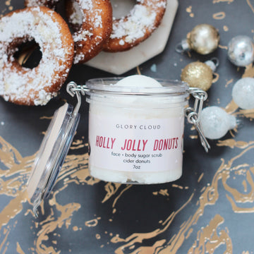 Glory Cloud USA - Whipped Sugar Scrubs - Holly Jolly Donuts