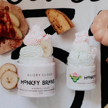 Glory Cloud USA - Whipped Soap - Monkey Brains