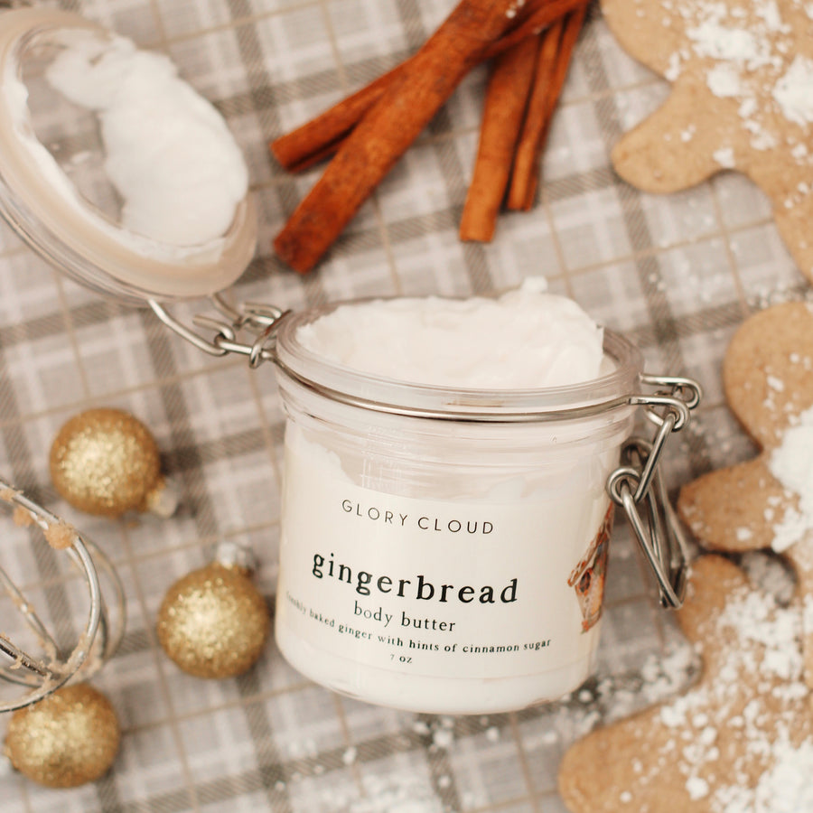 Glory Cloud USA - Body Butter - Gingerbread