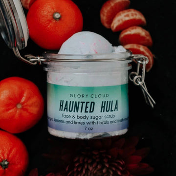 Glory Cloud USA - Whipped Sugar Scrubs - Haunted Hula