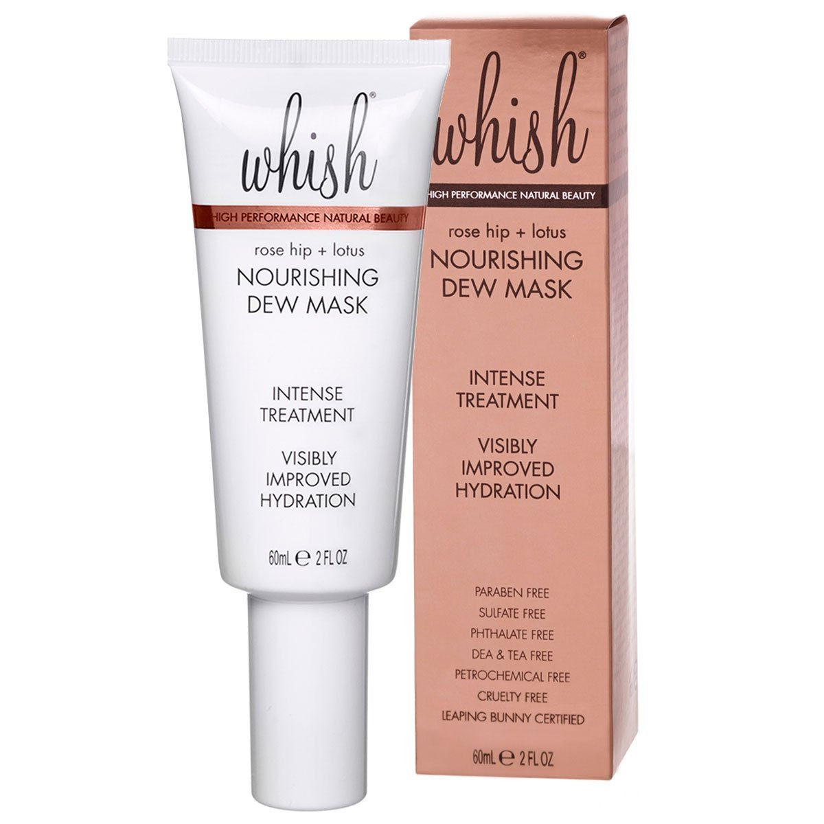 whish beauty Skin Care > Masks Rose Hip + Lotus Nourishing Dew Mask