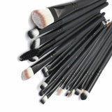 Get Polished with 20 pcs Women Make Up Brush Sets Pro