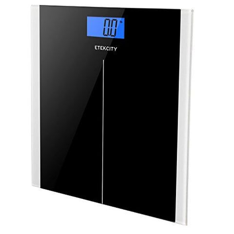 Etekcity Digital Body Weight Scale, Elegant Black