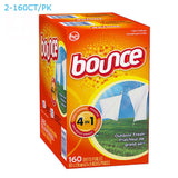 Bounce Dryer Sheets Outdoor Fresh 320 Count