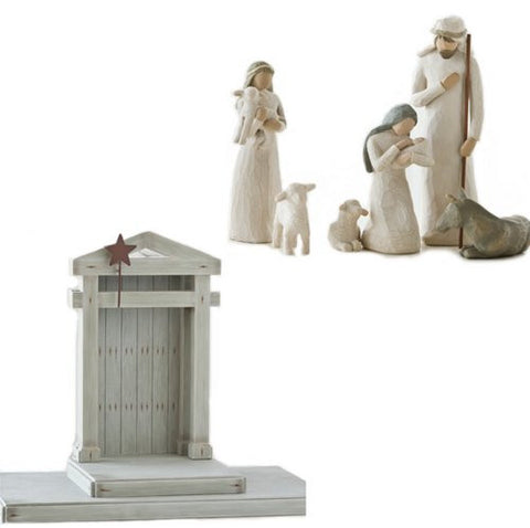 7pc Willow Tree Nativity Set