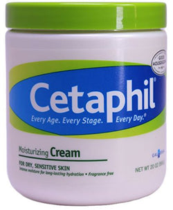 Cetaphil Moisturizing Cream for Dry, Sensitive Skin, 20 Ounce