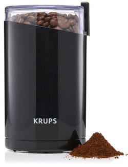 KRUPS F203 Electric Spice and Coffee Grinde, 3-Ounce, Black