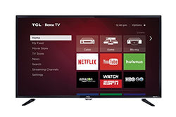 TCL 32S3800 32-Inch 720p Roku Smart LED TV (2015 Model), Size - 50-Inch                                        	    	                                                             from $453.51