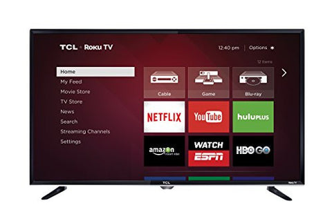 TCL 40FS3800 40-Inch 1080p Roku Smart LED TV