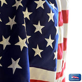 American Flag by Annin Flagmakers, 100% Made in USA with Sewn Stripes, Embroidered Stars and Brass Grommets.