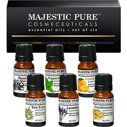 Majestic Pure Essential Oils Set of 6 - 10 ml