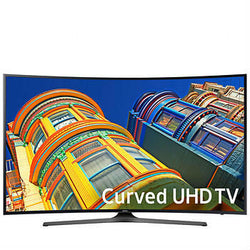 "Samsung 65"" Class Curved 4K Ultra HD LED LCD TV - UN65KU650DFXZA"