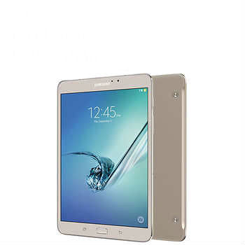 Samsung Galaxy Tab S2 Wi-Fi Tablet, Octa Core, Android Marshmallow - Gold w/ Includes Book Cover