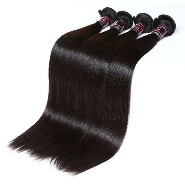 Wholesale 7A Malaysian Straight Virgin Hair - 3Pcs / Lot